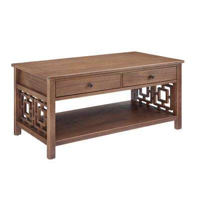 Haven Rustic Brown Coffee Table