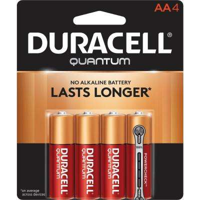Quantum Alkaline AA Battery (4-Pack)