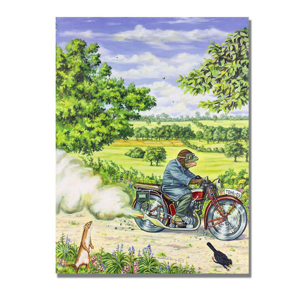 Trademark Fine Art 24 in. x 32 in. Parp Parp, 2000 Canvas Art-DISCONTINUED