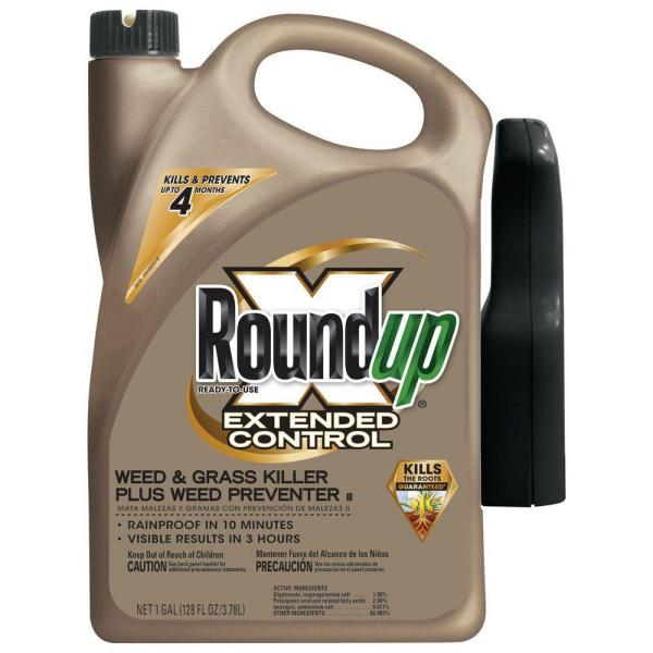 Ready-to-Use 1 Gal. Extended Control Weed and Grass Killer Plus Weed Preventer II