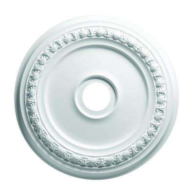 24 in. Shell  and Bellflower Ceiling Medallion
