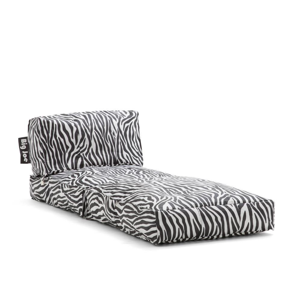 Flip Lounger Zebra SmartMax Bean Bag