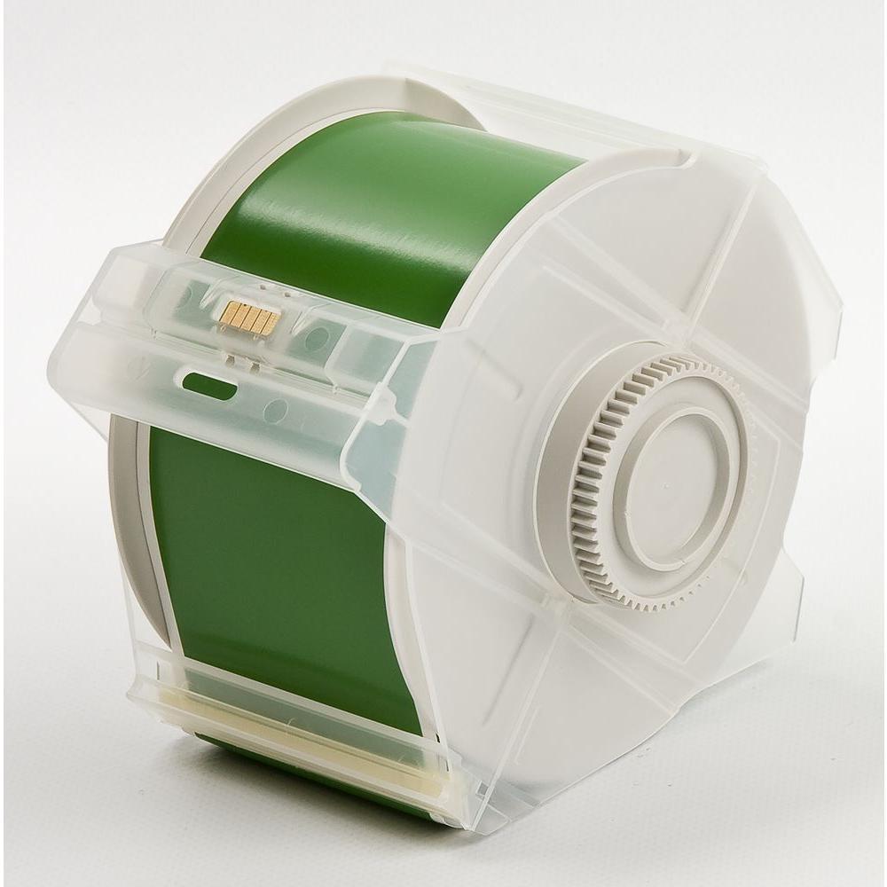 B569 GlobalMark 2.25 in. x 100 ft. Polyester Green Tape