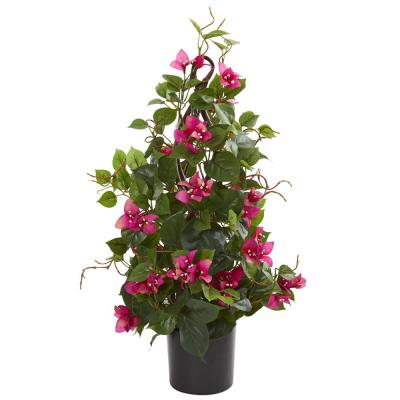 Indoor 24 in. Bougainvillea Artificial Climbing Plant