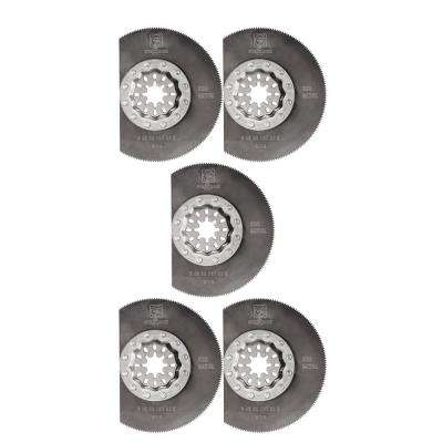 3-3/8 in. HSS Segment Saw Blade Starlock (5-Pack)