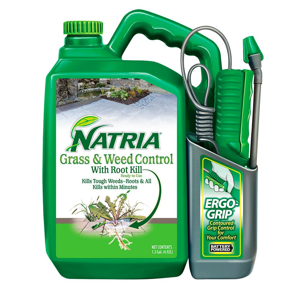 1 3 Gal  Powered Sprayer Natria Grass and Weed Control with Root Kill