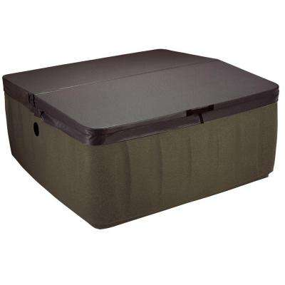 AR-600 Replacement Spa Cover - Walnut