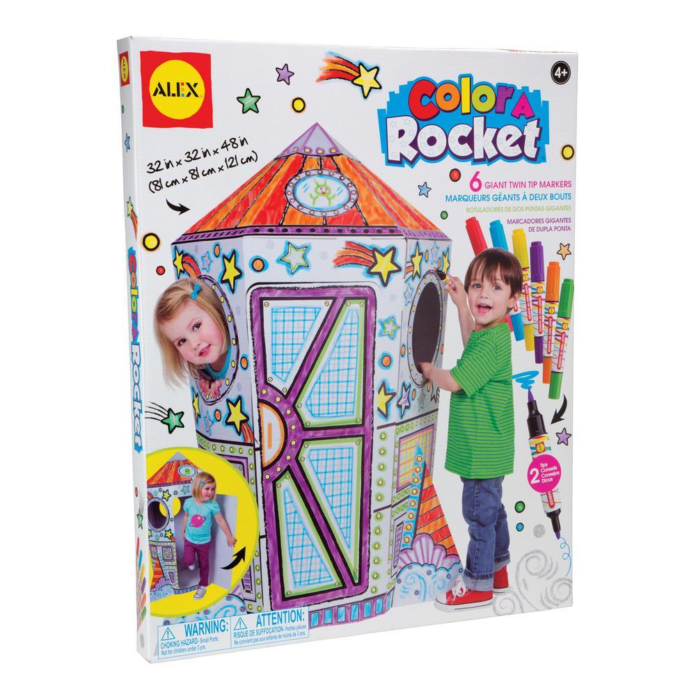 Craft Color a Rocket Children's Kit