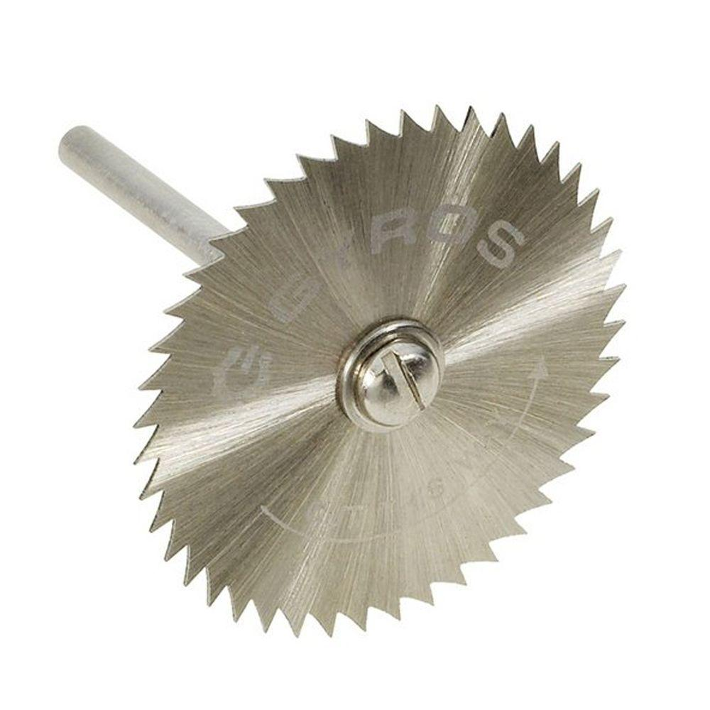 1-1/2 in. Diameter Coarse Teeth Saw Blade with Mandrel