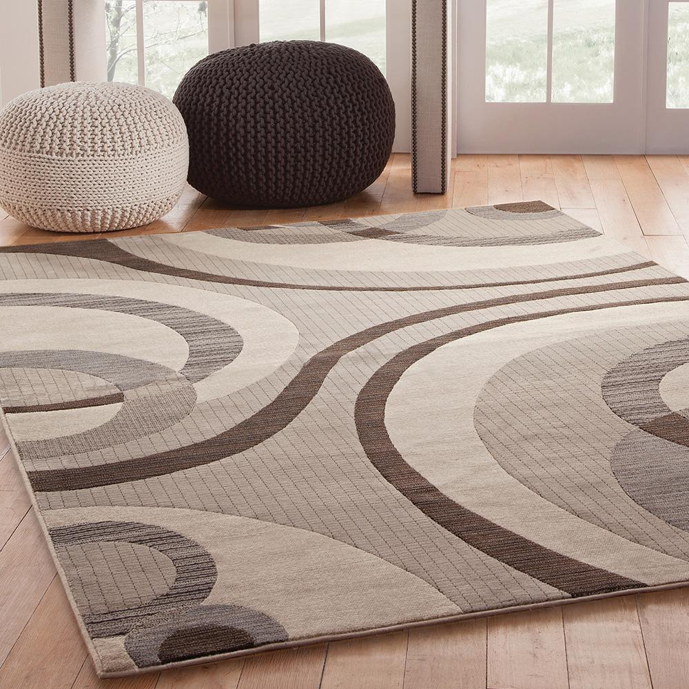 Sams International Sonoma Cicero Grey 5 Ft 3 In X 7 Ft