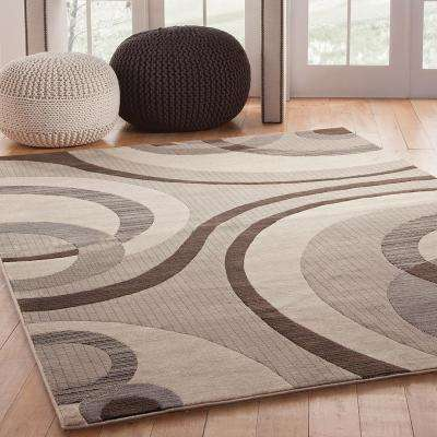 Sonoma Cicero Grey 5 ft. 3 in. x 7 ft. 6 in. Area Rug