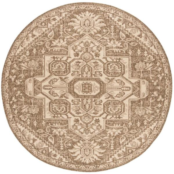 Indoor Outdoor Round Area Rug Bhs138a