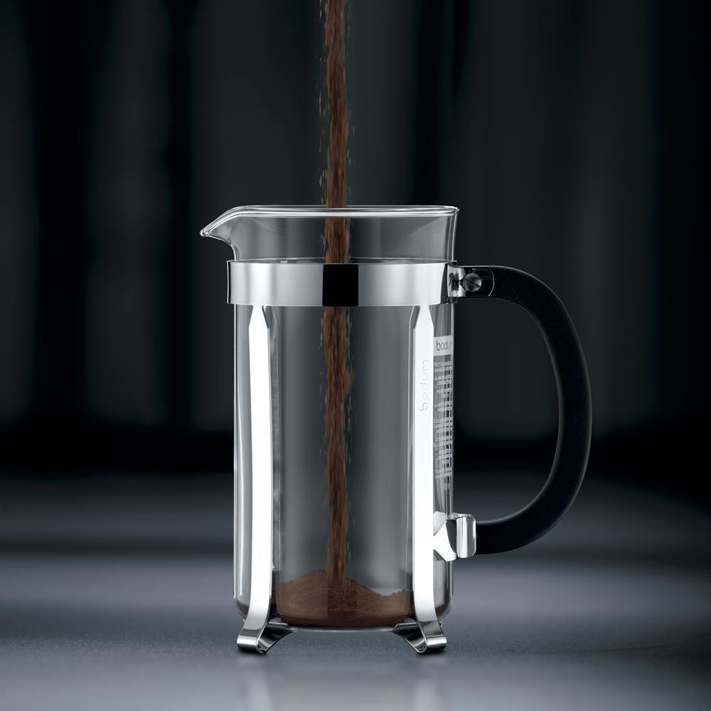 Maker 8 16us4 Chrome Coffee Cup Press French Chambord 1928 Bodum WED92IH