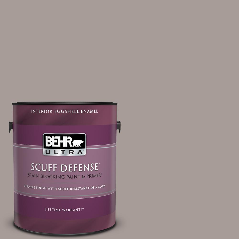 Reviews For Behr Ultra 1 Gal Ppu17 12 Smoked Mauve Extra Durable Eggshell Enamel Interior Paint Primer 275401 The Home Depot