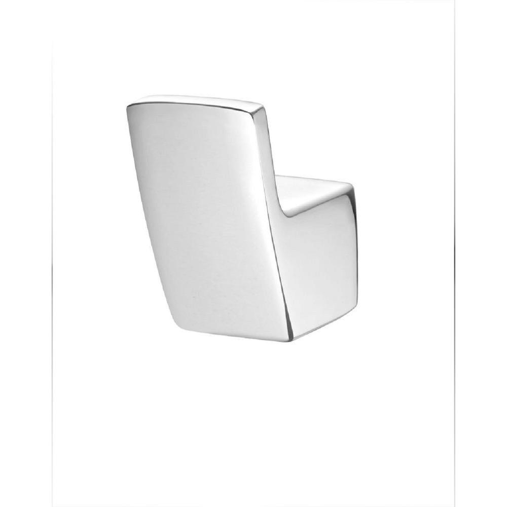 Pfister Kenzo Single Robe Hook in Polished Chrome Modern-inspired lavatory faucets with sleek architecture, simplistic lines and a beautiful water-efficient waterfall trough design. A delight for residential and hospitality projects alike. The design of Kenzo collection gives it the versatility to fit in any contemporary bathroom setting making it the perfect choice for any sized project big or small. The Polished Chrome is perfect for coordinating in a bathroom with polished chrome fixtures.