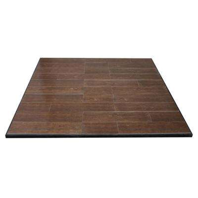 Boxed Hearth Pad Kit 60 in. Medium Oak Square