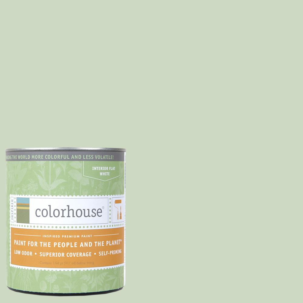 1 qt. Leaf .06 Flat Interior Paint