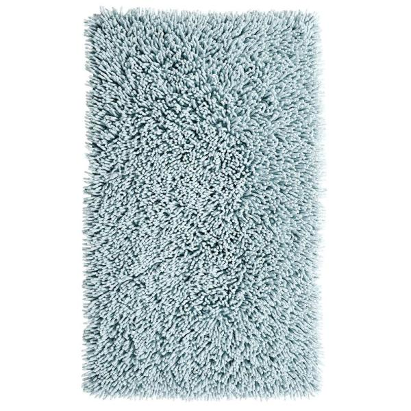 Chenille Shaggy Light Blue
