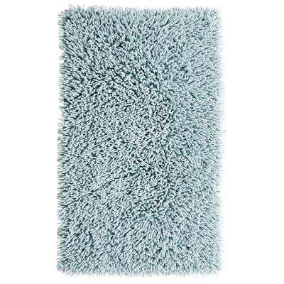 Castle Hill London, Chenille Shaggy 21 in. x 34 in. Bath Rug
