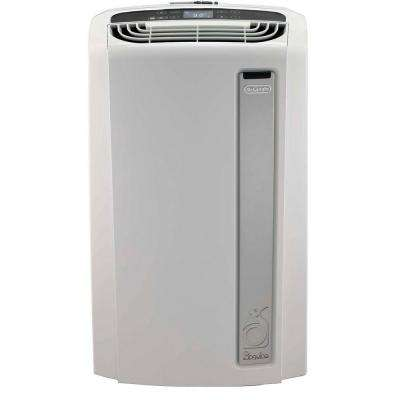 Pinguino 12,000 BTU Whisper Quiet Portable Air Conditioner with Dehumidifier and BioSilver Air Filter