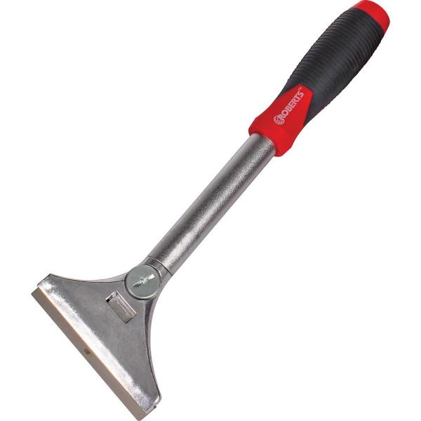 4 in. Wide Floor and Wall Scraper and Stripper with 12 in. Handle