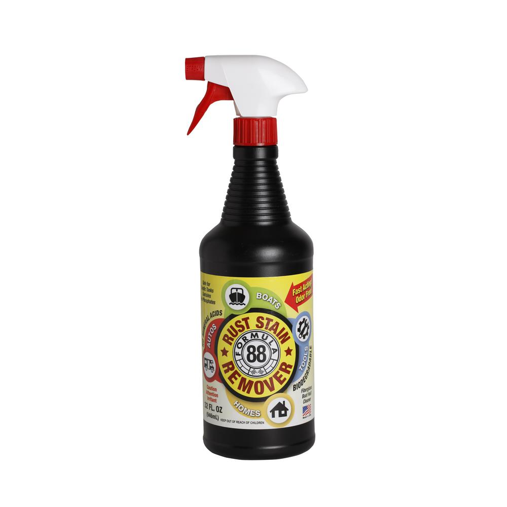 Formula 88 1 Qt Rust And Stain Remover 04317 The Home Depot