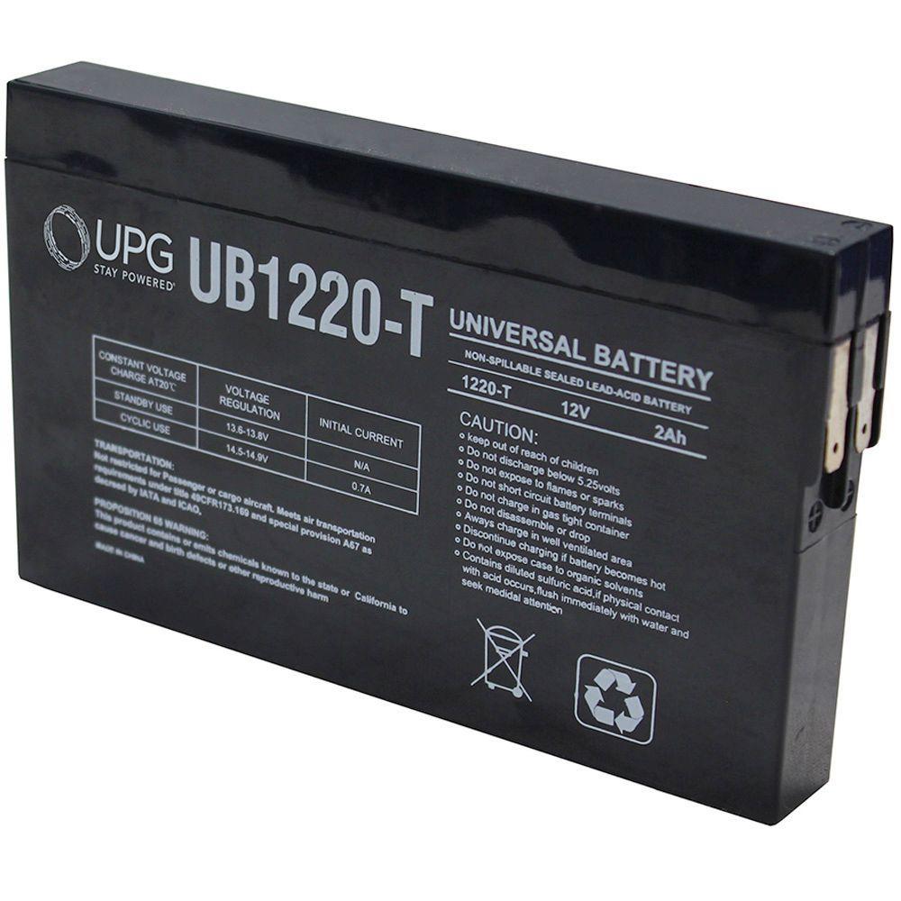 UPG SLA 12-Volt ST Side Terminal Battery