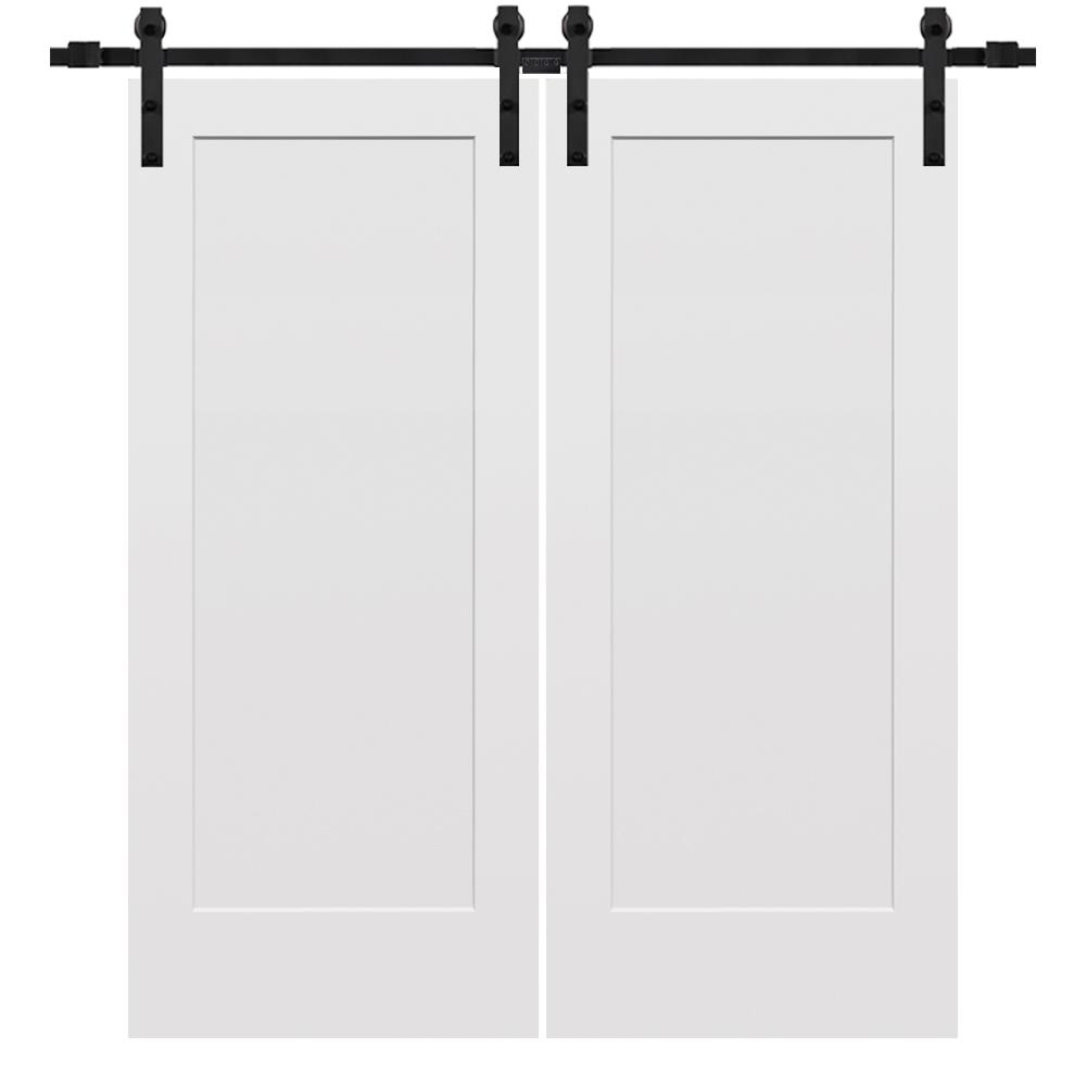 Mmi Door 72 In X 80 In Smooth Madison Primed Composite Double Barn