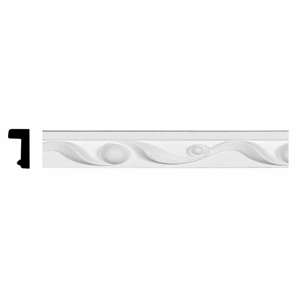 5/8 in. x 1-1/4 in. x 94-1/2 in. Polyurethane Ribbon Panel
