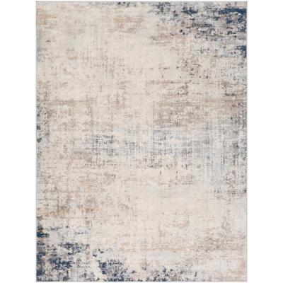 Hathor Navy 9 ft. x 12 ft. 3 in. Area Rug