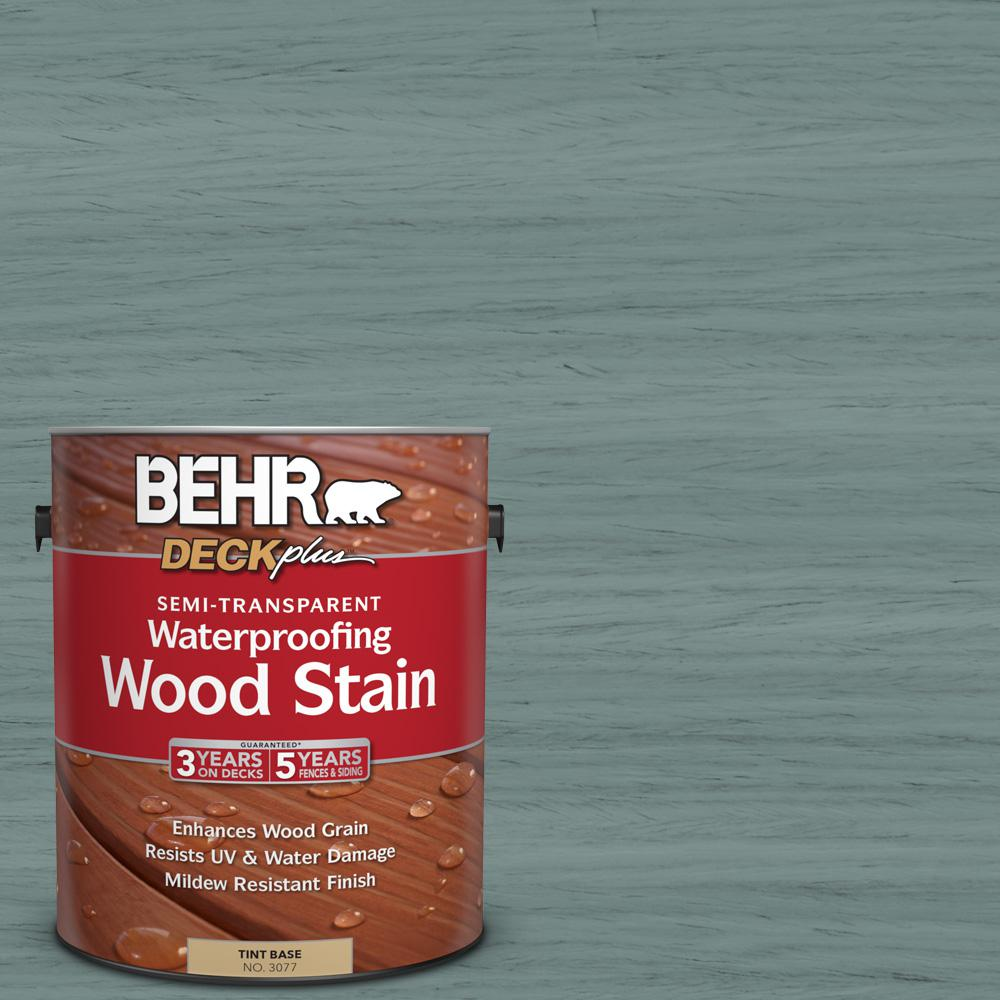 St 119 Colony Blue Semi Transpa Waterproofing Exterior Wood Stain