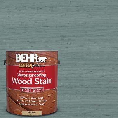 1 gal. #ST-119 Colony Blue Semi-Transparent Waterproofing Wood Stain