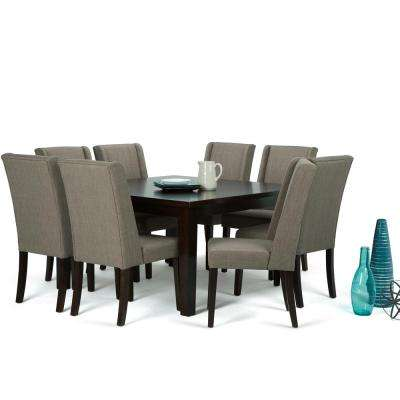 Attractive Sotheby 9 Piece Light Mocha Dining Set
