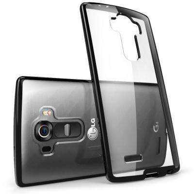 Halo Scratch Resistant Case for LG G4, Clear/Black