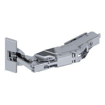 35 mm 160-Degree Wide Angle 3/4 in. Overlay Soft Close Cabinet Hinge (1-Pair)
