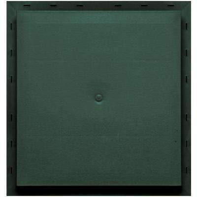 15.5 in. x 16.5 in. #028 Forest Green Meter Mounting Block