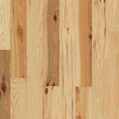 Rustic Hickory Natural 3/4 in. Thick x 4 in. Wide x Varying Length Solid Hardwood Flooring (18.5 sq. ft. / case)