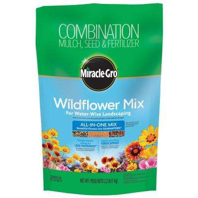 Wildflower All-in-1 Mix for Water-Wise Landscaping