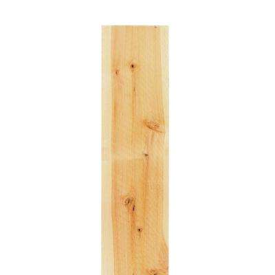 1 in x 8 in x 6 ft Flat Top El Dorado Cedar Fence Picket - 6 pack