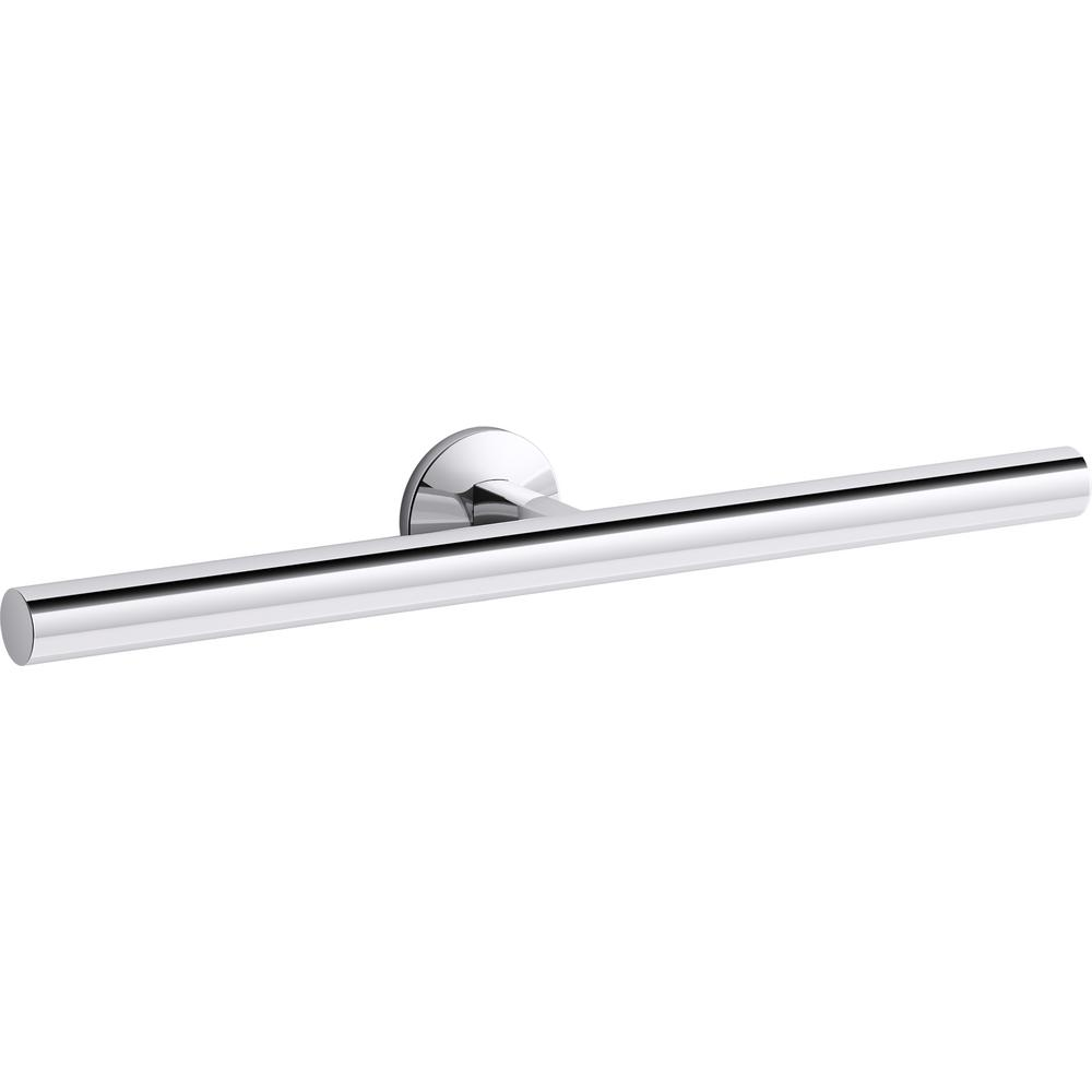 KOHLER Components 16 in. Double Towel Arm in Polished Chrome