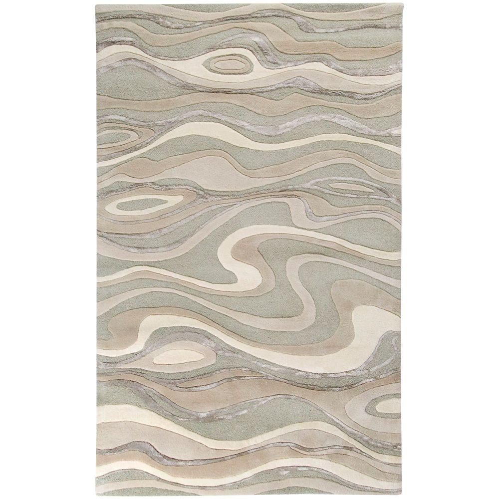 Surya Candice Olson Ivory 3 ft. 3 in. x 5 ft. 3 in. Area Rug
