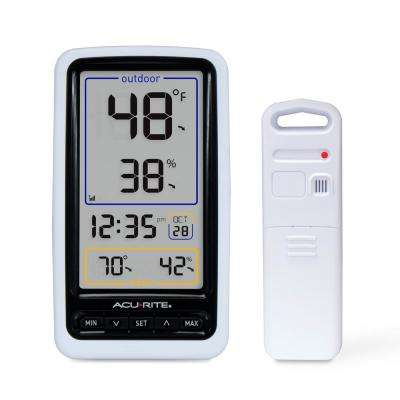 Wireless Digital Thermometer with Outdoor Temperature and Humidity
