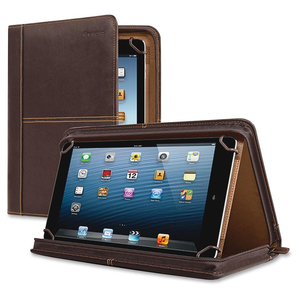 Solo 11 in. Full Grain Leather Executive Tablet Carrying ...