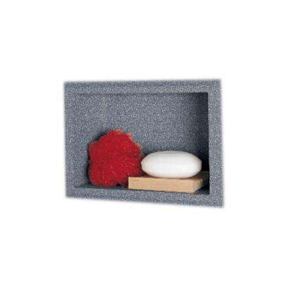 4-1/8 in. x 7-1/2 in. x 10-3/4 in. Recessed Accessory Shelf in Night Sky
