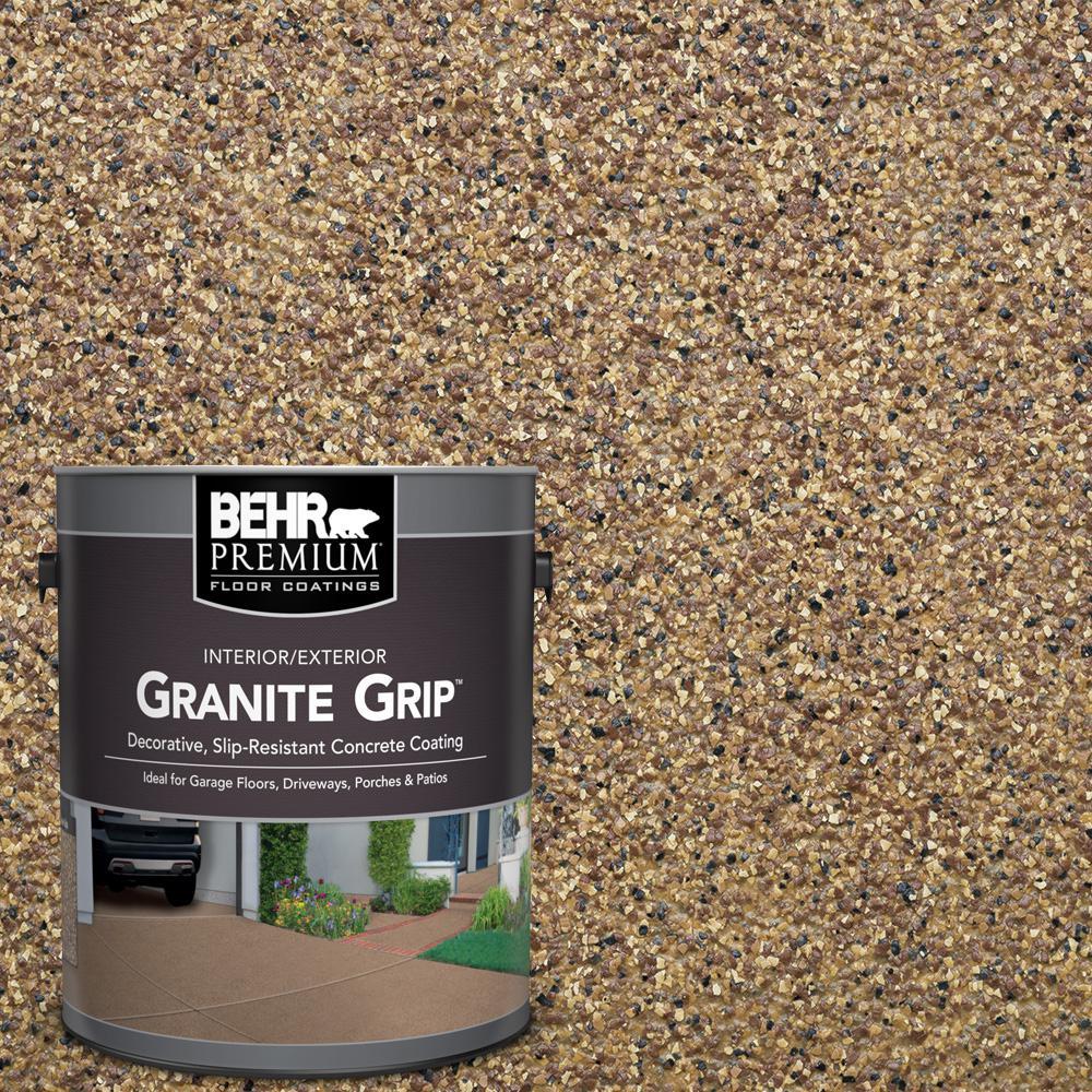 Behr premium 5 gal gg 13 pebble sunstone decorative concrete floor gg 13 pebble sunstone decorative concrete floor coating solutioingenieria Choice Image