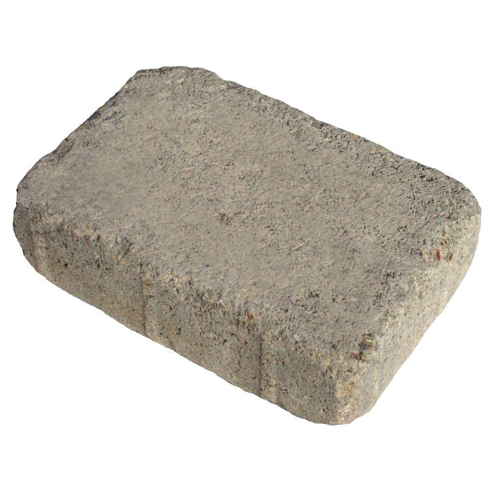 Basalite 5 in. x 8 in. Tumbled Rectangle Cottage Blend Paver