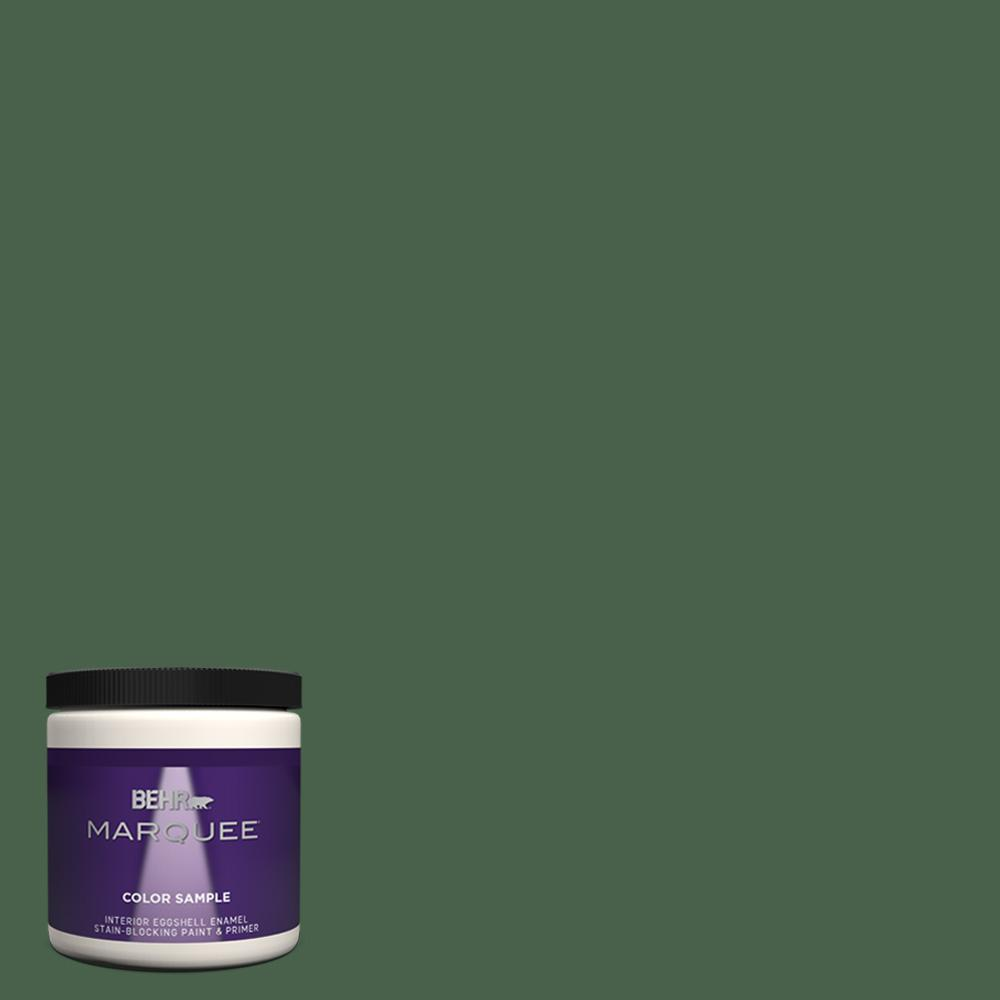 Behr Marquee 8 Oz Ppf 44 Nature Surrounds Eggshell Enamel Interior Paint And Primer In One Sample Mq31316 The Home Depot