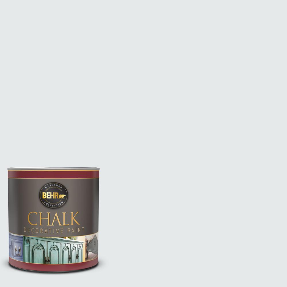 BEHR 1 qt. #PR-W10 Swirling Water Interior Chalk Decorative Paint