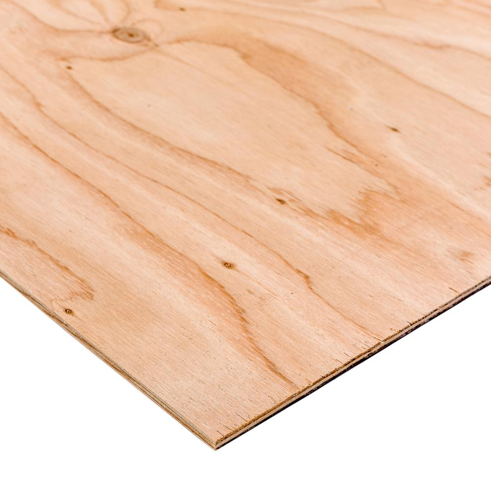 Dimensions birch plywood common in ft