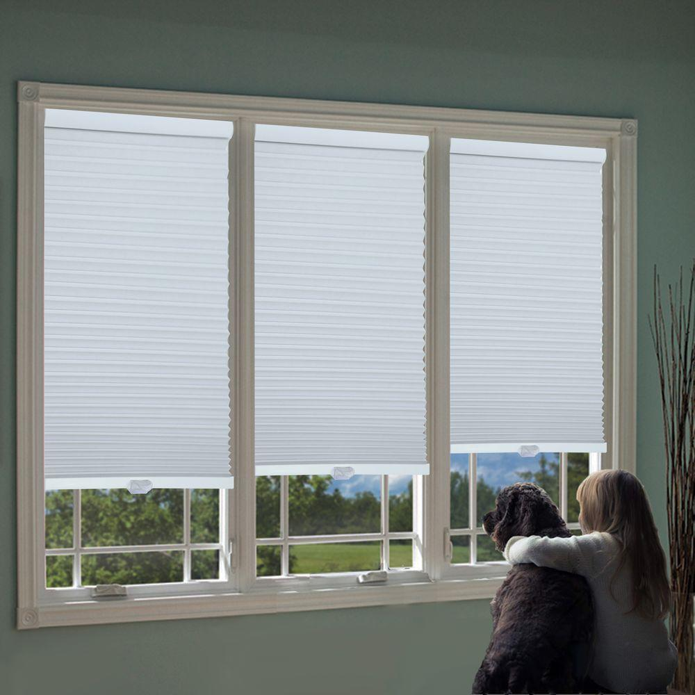 Perfect Lift Window Treatment Cut To Width White 1 5 In